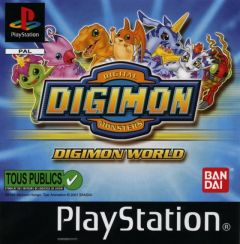 Jaquette de Digimon World PlayStation