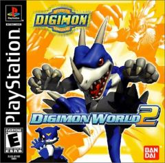 Jaquette de Digimon World 2 PlayStation