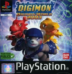Jaquette de Digimon World 2003 PlayStation