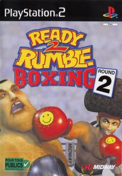 Jaquette de Ready 2 Rumble Boxing Round 2 PlayStation 2