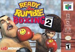 Jaquette de Ready 2 Rumble Boxing Round 2 Nintendo 64