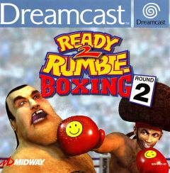 Jaquette de Ready 2 Rumble Boxing Round 2 Dreamcast