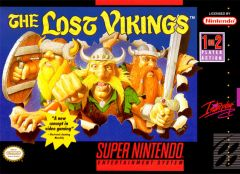 Jaquette de The Lost Vikings Super NES