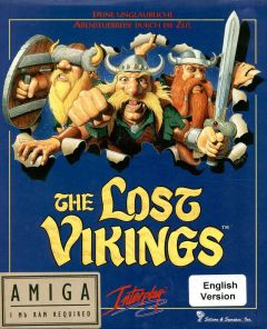 Jaquette de The Lost Vikings Amiga