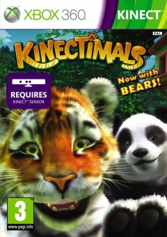 Jaquette de Kinectimals : Now with Bears ! Xbox 360
