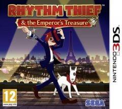 Jaquette de Rhythm Thief et les Mystères de Paris Nintendo 3DS
