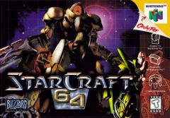 Jaquette de StarCraft Nintendo 64
