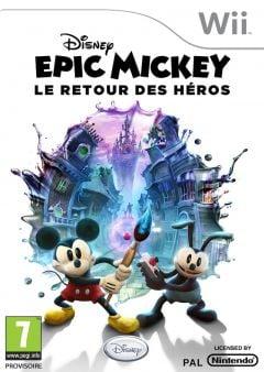 Jaquette de Epic Mickey : Le Retour des H�ros Wii
