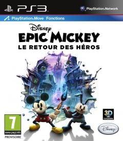 Jaquette de Epic Mickey : Le Retour des Héros PlayStation 3