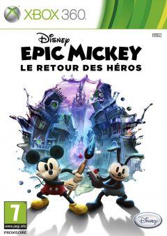 Jaquette de Epic Mickey : Le Retour des Héros Xbox 360