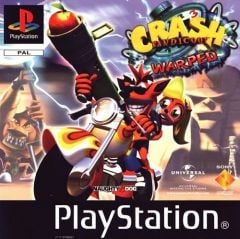 Jaquette de Crash Bandicoot 3 : Warped PlayStation