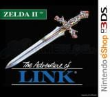 Jaquette de Zelda II : The Adventure of Link Nintendo 3DS