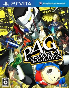 Jaquette de Persona 4 : Golden PS Vita
