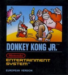 Jaquette de Donkey Kong Jr. NES