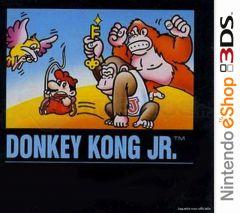 Jaquette de Donkey Kong Jr. Nintendo 3DS