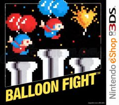 Jaquette de Balloon Fight Nintendo 3DS
