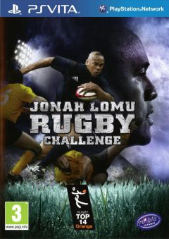 Jaquette de Jonah Lomu Rugby Challenge PS Vita
