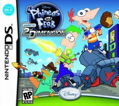Jaquette de Phineas et Ferb : Voyage dans la Deuxième Dimension DS