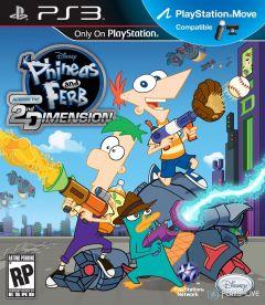Jaquette de Phineas et Ferb : Voyage dans la Deuxième Dimension PlayStation 3