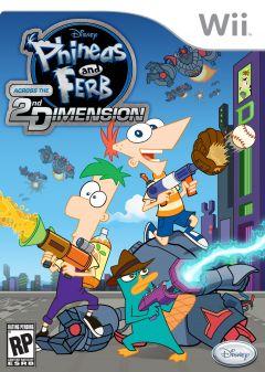 Jaquette de Phineas et Ferb : Voyage dans la Deuxième Dimension Wii