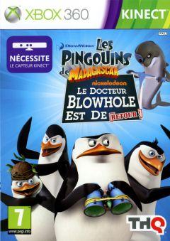 Jaquette de Les Pingouins de Madagascar : Le retour de Dr. Blowhole ! Xbox 360