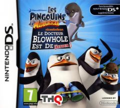 Jaquette de Les Pingouins de Madagascar : Le retour de Dr. Blowhole ! DS