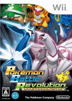 Jaquette de Pokémon Battle Revolution Wii