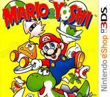 Jaquette de Mario & Yoshi Nintendo 3DS