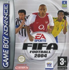 Jaquette de FIFA Football 2004 Game Boy Advance