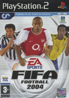 Jaquette de FIFA Football 2004 PlayStation 2
