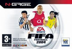 Jaquette de FIFA Football 2004 N-Gage