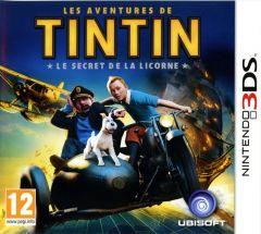 Jaquette de Les Aventures de Tintin : Le Secret de la Licorne Nintendo 3DS