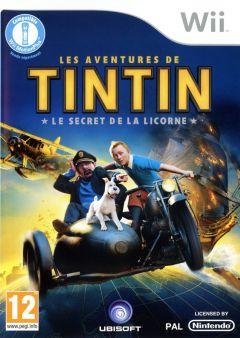 Jaquette de Les Aventures de Tintin : Le Secret de la Licorne Wii