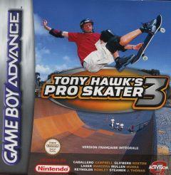 Jaquette de Tony Hawk's Pro Skater 3 Game Boy Advance