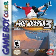 Jaquette de Tony Hawk's Pro Skater 3 Game Boy Color