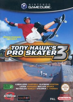 Jaquette de Tony Hawk's Pro Skater 3 GameCube