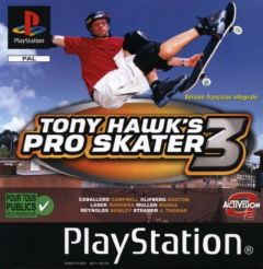 Jaquette de Tony Hawk's Pro Skater 3 PlayStation
