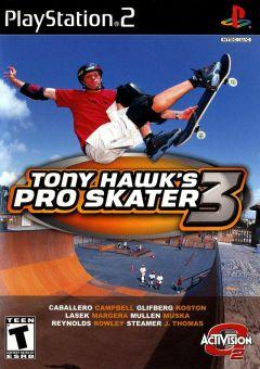 Jaquette de Tony Hawk's Pro Skater 3 PlayStation 2