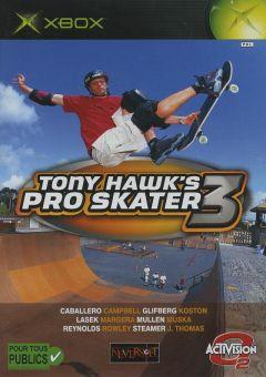 Jaquette de Tony Hawk's Pro Skater 3 Xbox