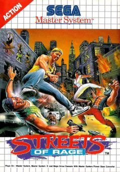 Jaquette de Streets of Rage Master System