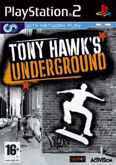 Jaquette de Tony Hawk's Underground PlayStation 2