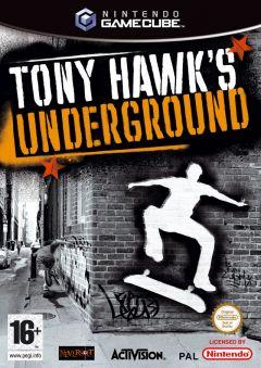 Jaquette de Tony Hawk's Underground GameCube