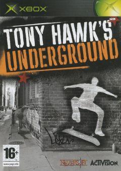 Jaquette de Tony Hawk's Underground Xbox