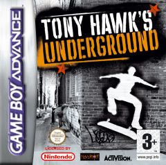 Jaquette de Tony Hawk's Underground Game Boy Advance