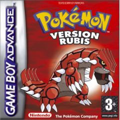 Jaquette de Pokémon Version Rubis Game Boy Advance