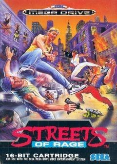 Jaquette de Streets of Rage Megadrive
