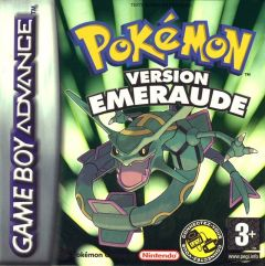 Jaquette de Pokémon Version Emeraude Game Boy Advance