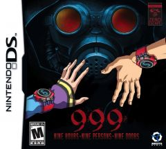 Jaquette de 999 : Nine Hours, Nine Persons, Nine Doors DS