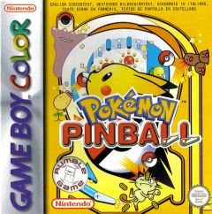 Jaquette de Pokémon Pinball Game Boy Color