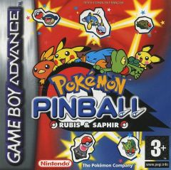 Jaquette de Pok�mon Pinball : Rubis & Saphir Game Boy Advance